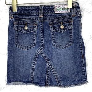 GIRLS ROXY | Jean Skirt With Back Pockets